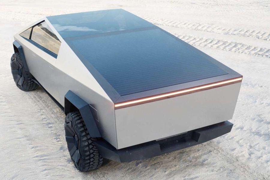 Paneles solares para estirar la autonomía del Tesla Cybertruck